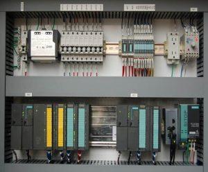 Siemens Otomasyon ekipmanları ile yapılmış bir pano